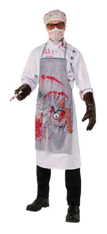 MAD SCIENTIST COSTUME, ADULT - SIZE STD
