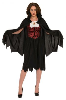 LADY VAMPIRE COSTUME - SIZE STD