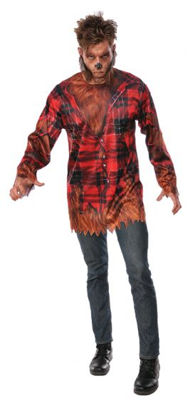 WEREWOLF HALLOWEEN COSTUME, ADULT - SIZE XL