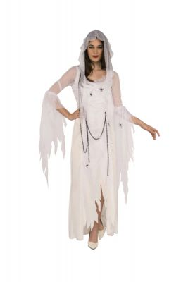 GHOSTLY SPIRIT WOMEN'S COSTUME - SIZE L