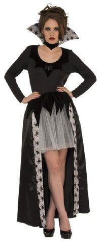 SPIDER QUEEN VAMPIRESS COSTUME, ADULT - SIZE STD