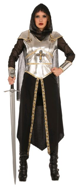 MEDIEVAL WARRIOR WOMEN'S COSTUME, ADULT - SIZE STD