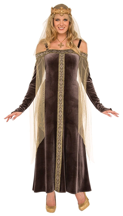 LADY GREY COSTUME, ADULT - SIZE STD