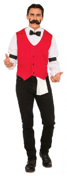 BARTENDER COSTUME, ADULT - SIZE XL