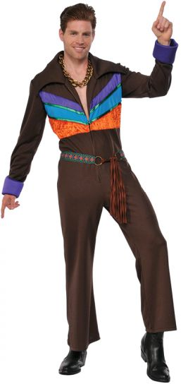 70'S GUY HIPPIE COSTUME - SIZE STD