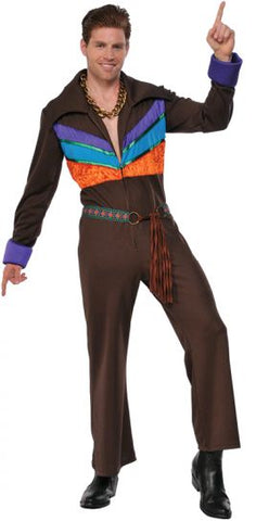 70'S GUY HIPPIE COSTUME, ADULT - SIZE STD