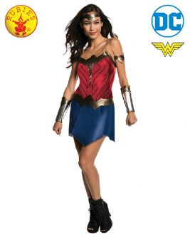 WONDER WOMAN CLASSIC COSTUME, ADULT - SIZE S