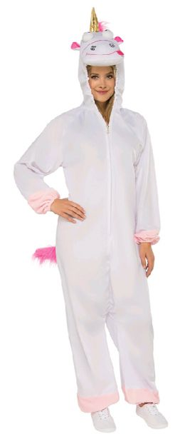 FLUFFY UNICORN COSTUME - SIZE STD