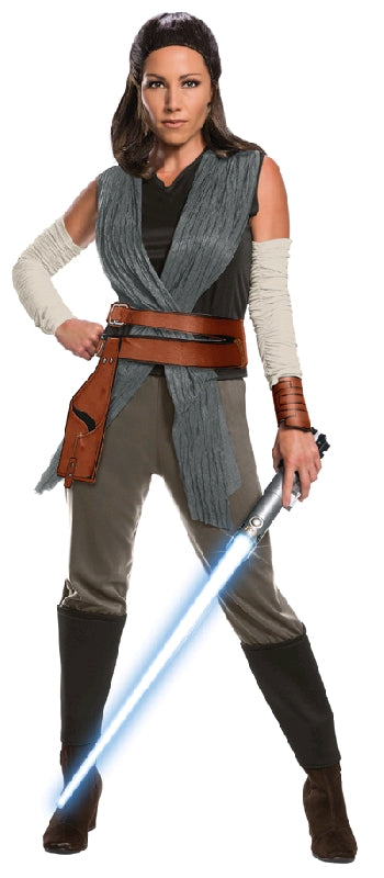 REY DELUXE COSTUME, ADULT - SIZE S