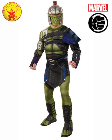 HULK RAGNAROK BATTLE COSTUME, ADULT - SIZE STD