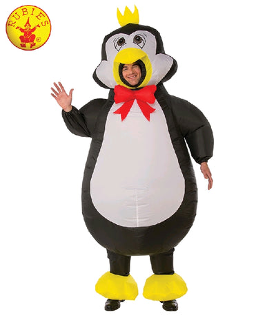 INFLATABLE PENGUIN COSTUME, ADULT - SIZE STD