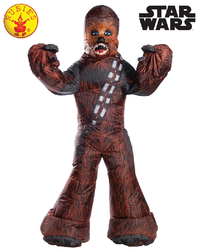 CHEWBACCA INFLATABLE COSTUME, ADULT - SIZE STD