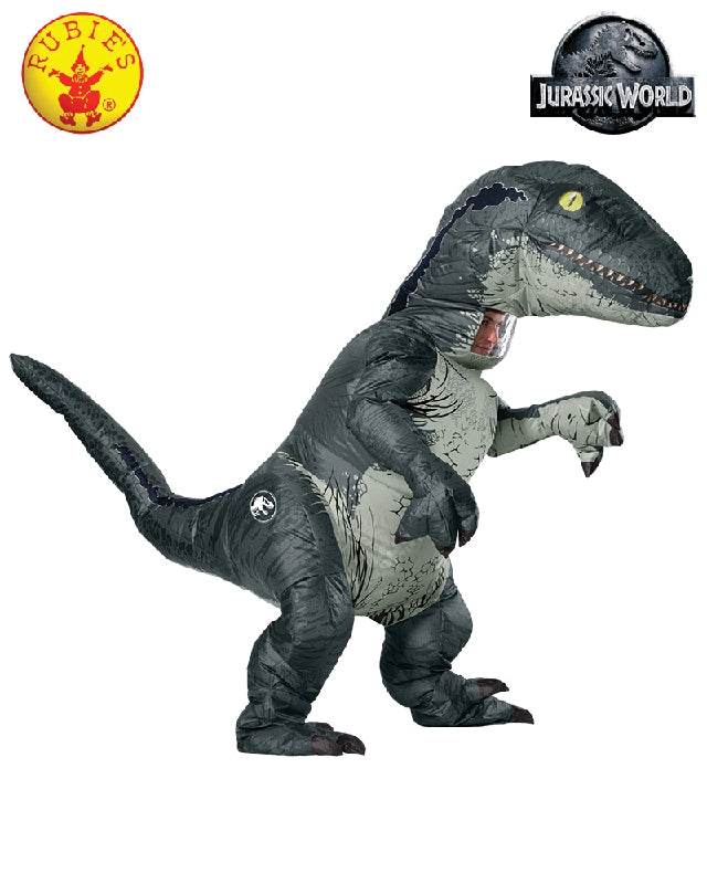 JURASSIC WORLD VELOCIRAPTOR COSTUME, ADULT - SIZE STD
