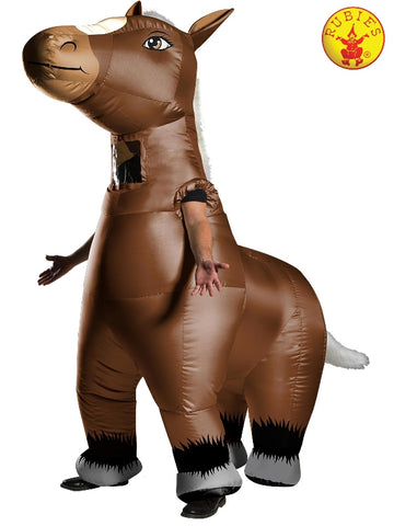 HORSE INFLATABLE COSTUME, ADULT