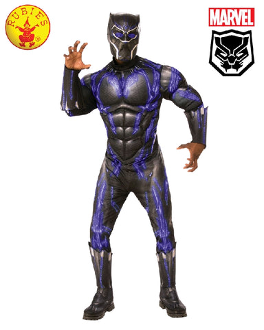 BLACK PANTHER BATTLE COSTUME, ADULT - SIZE STD