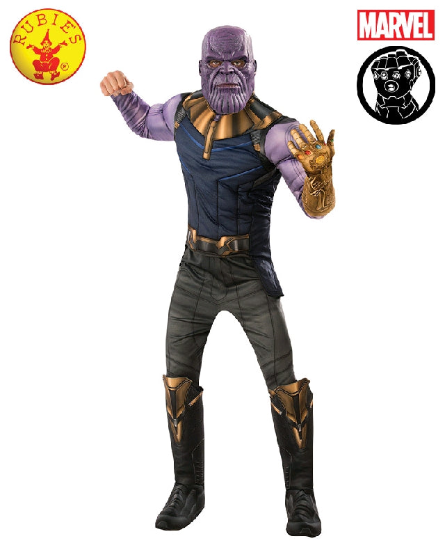 THANOS DELUXE COSTUME, ADULT - SIZE STD