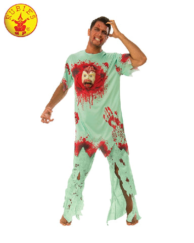 HALLOWEEN HOSPITAL COSTUME, ADULT - SIZE STD