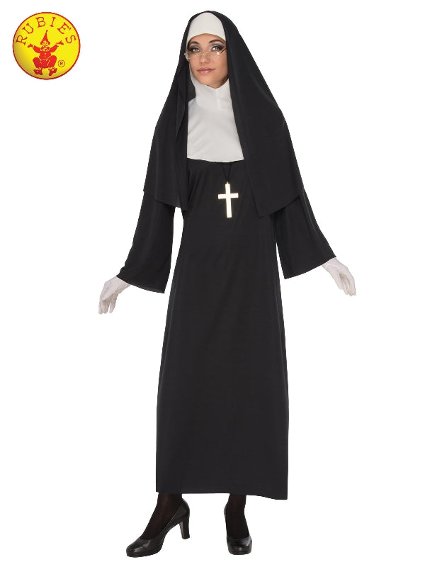 CLASSIC NUN COSTUME, ADULT - SIZE S