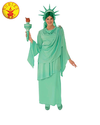 STATUE OF LIBERTY COSTUME, ADULT - SIZE S