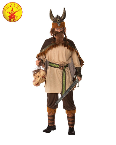 VIKING MAN COSTUME, ADULT - SIZE STD