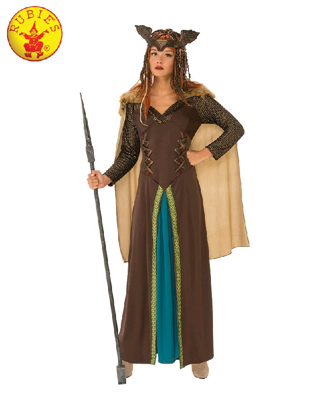 VIKING WOMAN COSTUME, ADULT - SIZE L