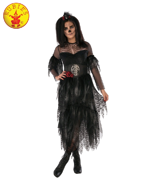 GOTHIC GHOUL LADY COSTUME, ADULT - SIZE S