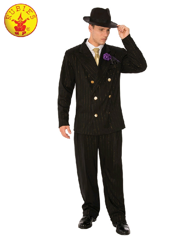 GANGSTER MAN 1940s COSTUME, ADULT - SIZE XL