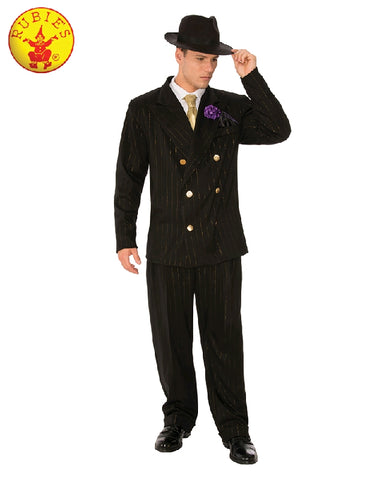 GANGSTER MAN 1940s COSTUME, ADULT - SIZE STD