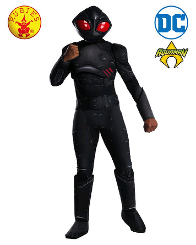 BLACK MANTA AQUAMAN COSTUME, ADULT - SIZE STD