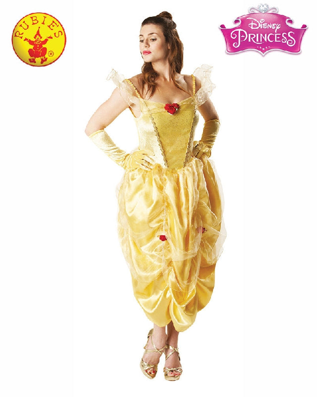 BELLE DELUXE COSTUME, ADULT - SIZE L