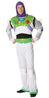 BUZZ LIGHTYEAR TOY STORY COSTUME, ADULT - SIZE STD