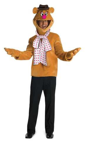 FOZZIE BEAR MUPPETS COSTUME, ADULT - SIZE STD