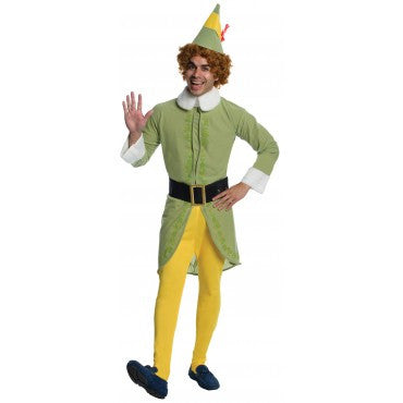 ELF MOVIE COSTUME, ADULT - SIZE STD