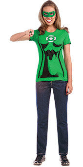 GREEN LANTERN TSHIRT FEMALE - SIZE S