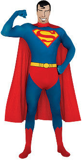 SUPERMAN 2ND SKIN SUIT - SIZE M