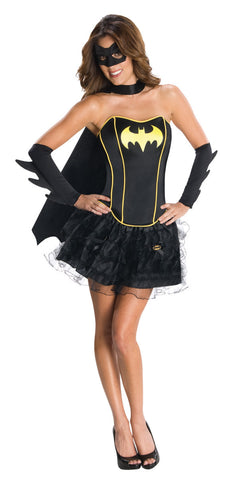BATGIRL SECRET WISHES CORSET/SKIRT - SIZE L