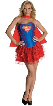 SUPERGIRL SECRET WISHES TUTU COSTUME - SIZE XS