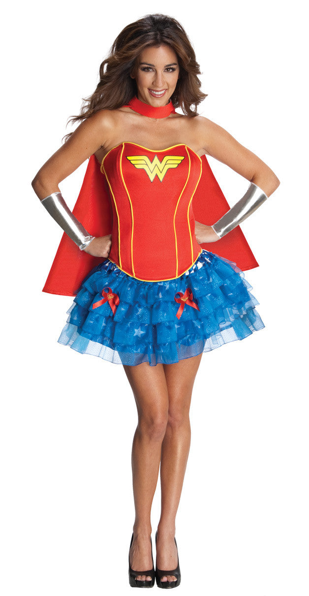 WONDER WOMAN SECRET WISHES COSTUME - SIZE S