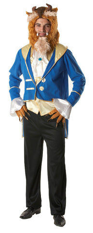 BEAUTY AND THE BEAST COSTUME, ADULT - SIZE XL