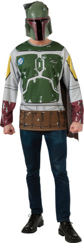 BOBA FETT COSTUME TOP, ADULT - SIZE XL