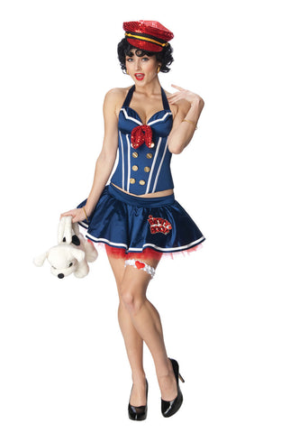 BETTY BOOP SAILOR COSTUME, ADULT - SIZE M