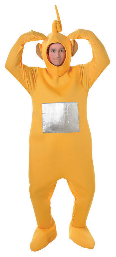 LAA-LAA TELETUBBIES DELUXE COSTUME, ADULT - SIZE STD