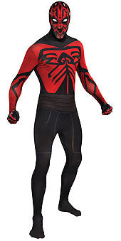 DARTH MAUL 2ND SKIN SUIT, ADULT - SIZE L