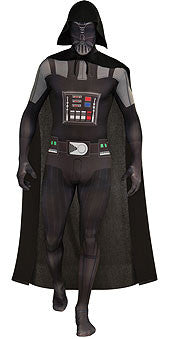 DARTH VADER 2ND SKIN SUIT - SIZE XL
