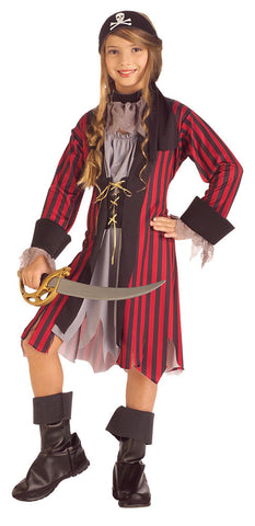 PIRATE GIRL, CHILD - SIZE S