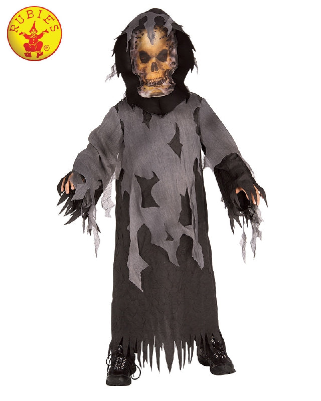 HAUNTED SKELETON COSTUME, CHILD - SIZE M
