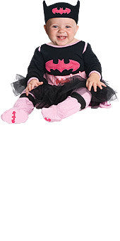 BATGIRL ONESIE COSTUME, BABY - SIZE INF