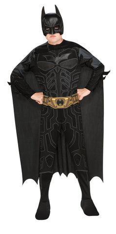 BATMAN DARK KNIGHT CLASSIC COSTUME, CHILD - SIZE S
