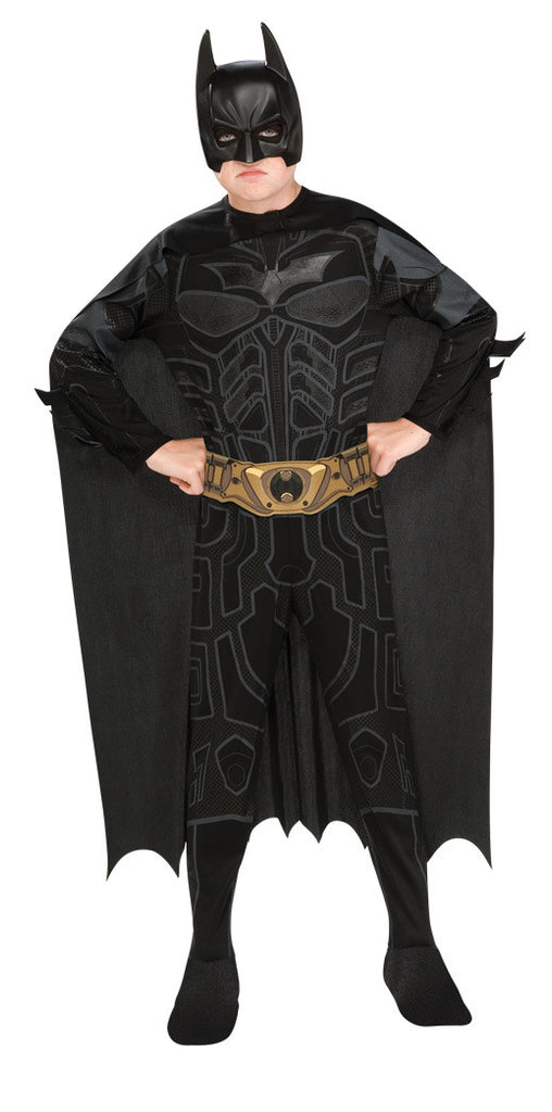 BATMAN DARK KNIGHT CLASSIC COSTUME, CHILD - SIZE M