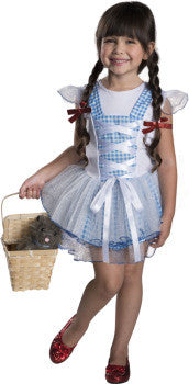 DOROTHY WIZARD OF OZ COSTUME - SIZE TODDLER